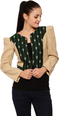 Palette Full Sleeve Solid Women's Jacket