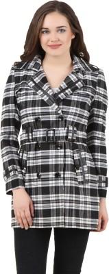 Inzo Full Sleeve Checkered Women's Jacket