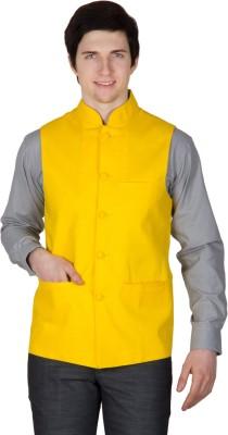 Robin Rider Sleeveless Solid Men's Nehru Jacket Jacket