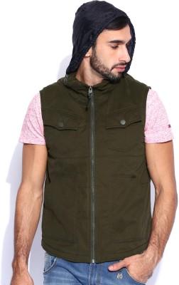 Numero Uno Sleeveless Woven Men's Jacket