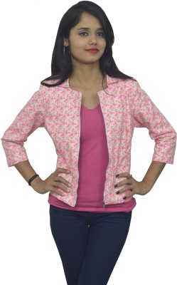 Doya Milan 3/4 Sleeve Floral Print Women's Jacket