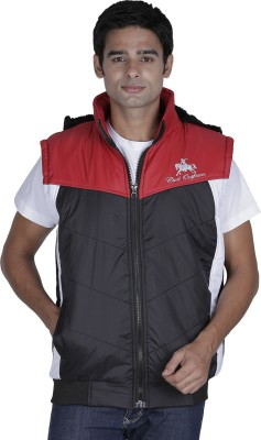 Civil Outfitters Sleeveless Solid Men's Quilted & Bomber Jacket