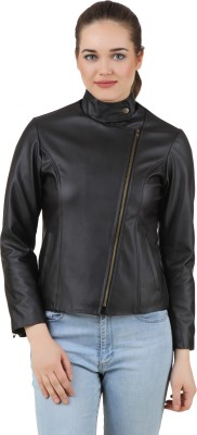 PerryJones Full Sleeve Solid Women's Jacket