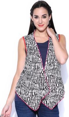 Anouk Sleeveless Printed Women,s Sleevless Jacket