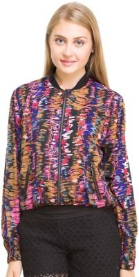 Oxolloxo Full Sleeve Printed Women's Bomber Jacket