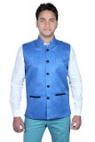 Routeen Sleeveless Solid Men's Jacket