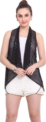 Rena Love Sleeveless Solid Women's Jacket