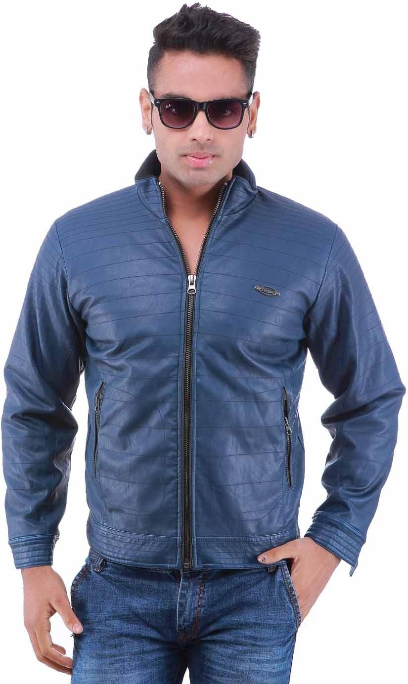 Oceanic Full Sleeve Solid Men's Jacket - Knit Wear