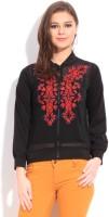 Global Desi Full Sleeve Solid Women's Jacket