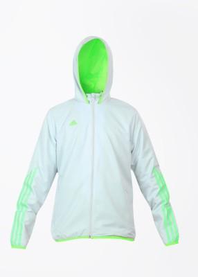 Adidas Full Sleeve Self Design Boy's Jacket
