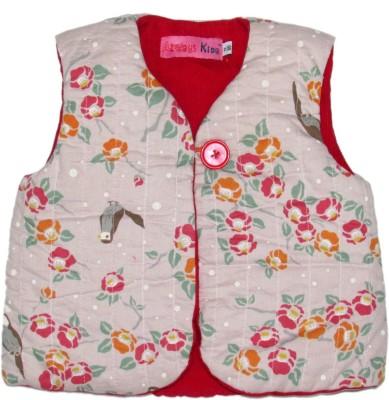 Always Kids Sleeveless Printed Boy's Jacket