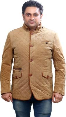 Ishika Garments Full Sleeve Solid Men's Jacket