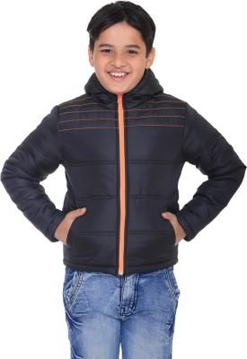 Kids-17 Full Sleeve Solid Boy's Jacket