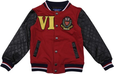 Lilliput Full Sleeve Self Design Boys Jacket