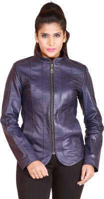 Pegasus Full Sleeve Solid Women's Leather Jacket