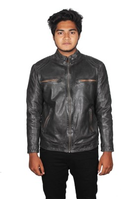 Naza Full Sleeve Self Design Men's Jacket