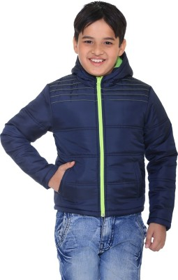 Kids-17 Full Sleeve Solid Boys Jacket