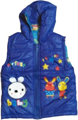 Icable Sleeveless Applique Boy's Jacket