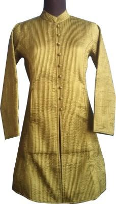 M S Export Full Sleeve Self Design, Printed, Woven Women's Jacket