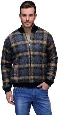 Tailor Craft Full Sleeve Checkered Men's Jacket