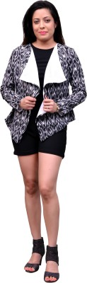 Change360° Full Sleeve Printed Women's Synthetic Jacket
