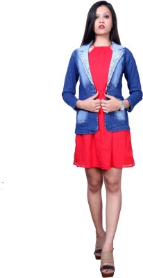 Style Souk Full Sleeve Solid Women's Denim Jacket