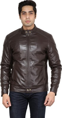 Get In Full Sleeve Solid Men's Jacket