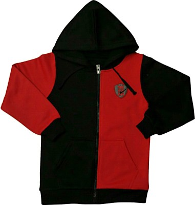 Bobjunior Full Sleeve Solid Boys Jacket