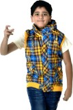 Libas Plus Sleeveless Woven Boys Jacket
