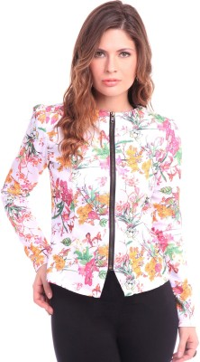 Sassafras Full Sleeve Floral Print Women's Jacket