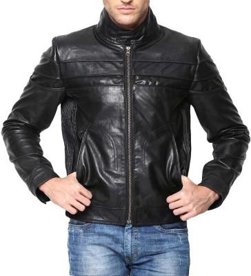 Bareskin Full Sleeve Self Design Mens Jacket