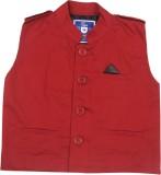 612 League Sleeveless Solid Boys Jacket