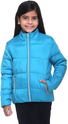 Kids-17 Full Sleeve Solid Girl's Jacket