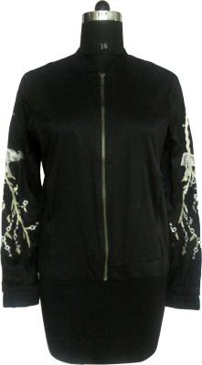 I Am For You Full Sleeve Embellished Women,s Jacket