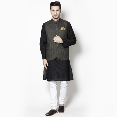 Even Sleeveless Woven Men's Jacket
