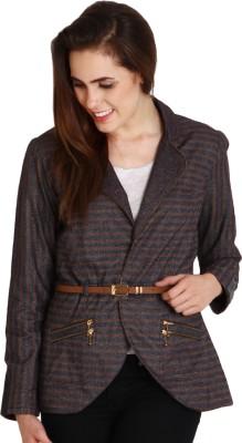 SOIE Full Sleeve Striped Women's Jacket