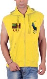 Cool Club Sleeveless Solid Men's Jacket