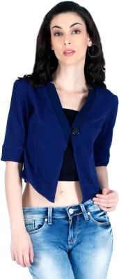 LAWMAN Half Sleeve Solid Women's Jacket