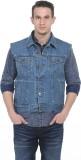 Basics Sleeveless Solid Men's Jacket