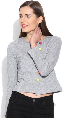 Colors Couture Full Sleeve Solid Women's Jacket