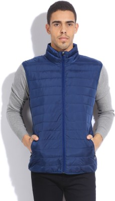 Quiksilver Sleeveless Striped Men's Quilted Jacket