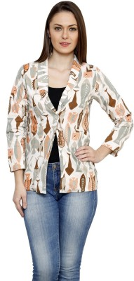 LEBE Full Sleeve Graphic Print Women's Jacket