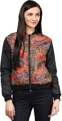 Okane Full Sleeve Printed Women's Jacket at flipkart