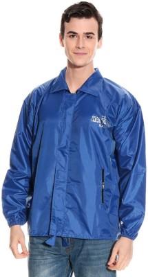 Monsuun ALSKJ-15-02R-Royal Blue Printed Men's Raincoat