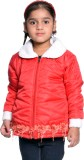 Come in Kids Full Sleeve Solid Girls Jac...