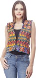 Franclo Sleeveless Embroidered Women's J...
