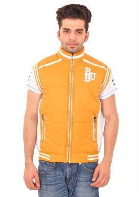 Be-Beu Sleeveless Solid Men's Jacket