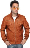 Bareskin Full Sleeve Solid Men's Motorcy...