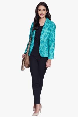 Fugue Full Sleeve Printed Women's Jacket
