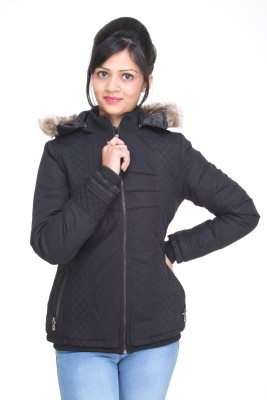 Trufit Full Sleeve Solid Women,s Bomber Jacket
